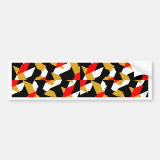 Autocollant De Voiture Motif abstrait coloré