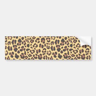 Autocollant De Voiture Motif de peau d'animal d'empreinte de léopard