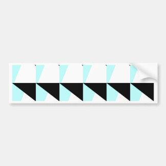 Autocollant De Voiture motif trichromatique