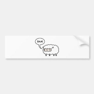 Autocollant De Voiture Moutons !