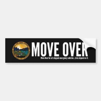 Autocollant De Voiture Mouvement du Montana au-dessus d'adhésif pour