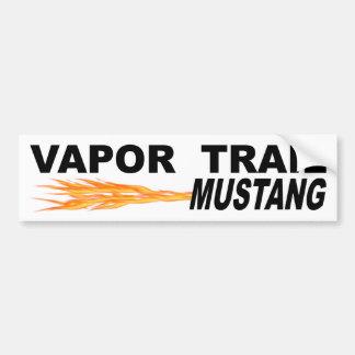 Autocollant De Voiture Mustang de traînée de vapeur