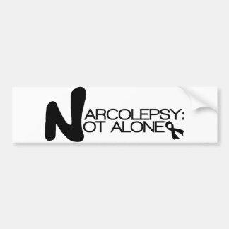 Autocollant De Voiture NARCOLEPSIE : PAS adhésif pour pare-chocs d'ALONE™