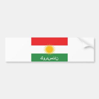 Autocollant De Voiture nom arabe des textes de pays de drapeau du