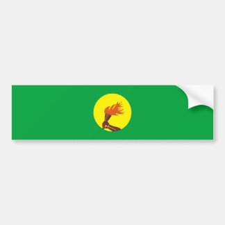 Autocollant De Voiture nom de symbole de nation de drapeau de pays du