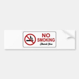 Autocollant De Voiture non-fumeurs