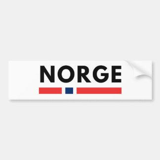 Autocollant De Voiture Norge