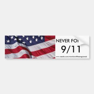 Autocollant De Voiture N'OUBLIEZ JAMAIS 9/11 adhésif pour pare-chocs