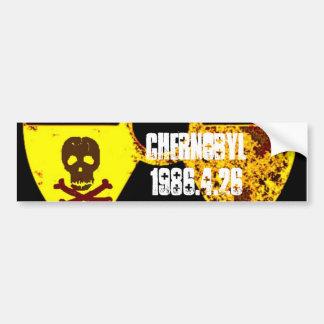 Autocollant De Voiture Nucléaire commémoratif de Chernobyl anti