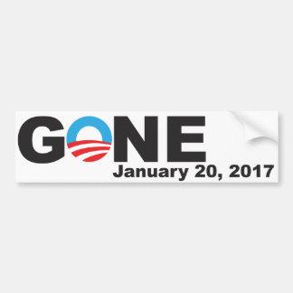 Autocollant De Voiture Obama allé, 2017