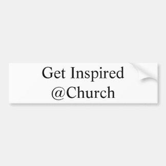 Autocollant De Voiture Obtenez l'autocollant inspiré de @Church