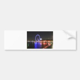 Autocollant De Voiture Oeil de Londres la nuit