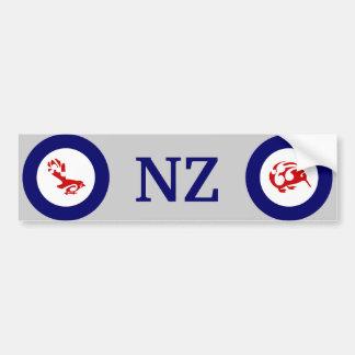 Autocollant De Voiture Oiseau de Faintail Nouvelle Zélande Aotearoa