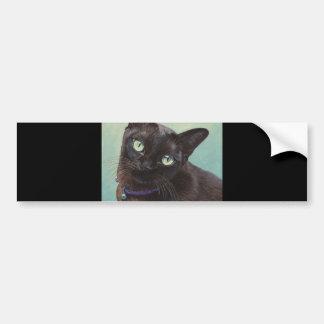 Autocollant De Voiture Orignaux noirs de chat birman