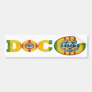 Autocollant De Voiture Paires d'autocollant de Doc. de médecin de combat