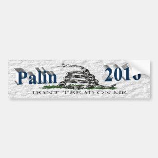 Autocollant De Voiture PALIN 2016 BumperSticker, bleu d'océan, Gadsden