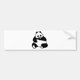 Autocollant De Voiture Panda
