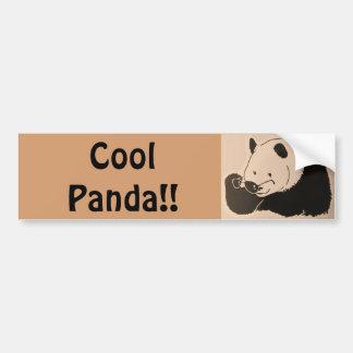 Autocollant De Voiture Panda frais avec des nuances