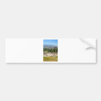 Autocollant De Voiture Panorama d'Athènes, Grèce