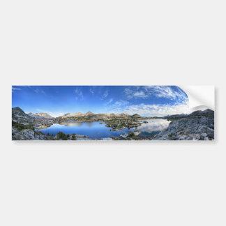 Autocollant De Voiture Panorama de matin de lac Marie - traînée de John
