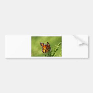 Autocollant De Voiture Papillon de monarque - plexippus de Danaus