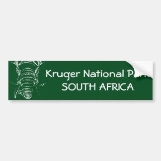 Autocollant De Voiture Parc national de Kruger
