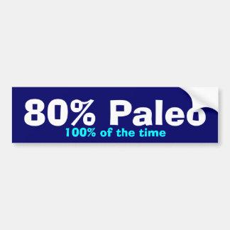Autocollant De Voiture Pare-chocs de 80% Paleo