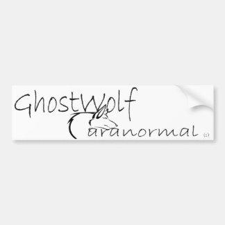 Autocollant De Voiture Pare-chocs de GhostWolf
