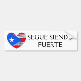 Autocollant De Voiture Pare-chocs de Maria d'ouragan de drapeau de Porto