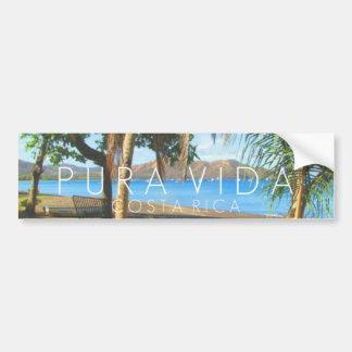 Autocollant De Voiture Pare-chocs de Playas del Coco Pura Vida Costa Rica
