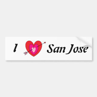 Autocollant De Voiture Pare-chocs Sticker* de San Jose
