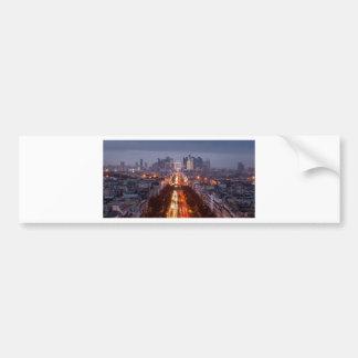 Autocollant De Voiture Paris, La défense
