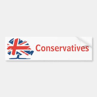 Autocollant De Voiture Parti conservateur Royaume-Uni
