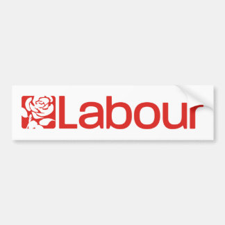 Autocollant De Voiture Parti travailliste R-U