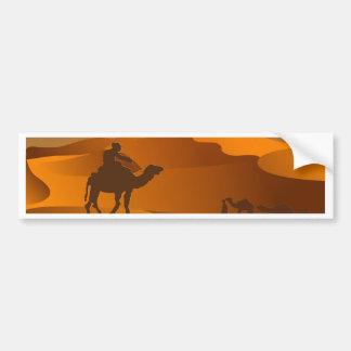 Autocollant De Voiture Paysage de désert