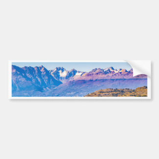 Autocollant De Voiture Paysage de lac et de montagnes, Patagonia, Chili