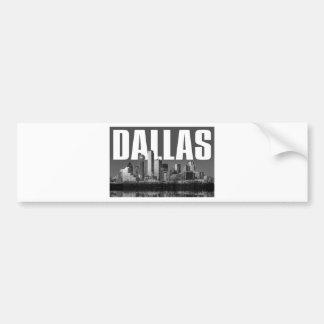 Autocollant De Voiture Paysage urbain de Dallas