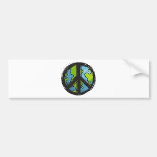 Autocollant De Voiture peace5