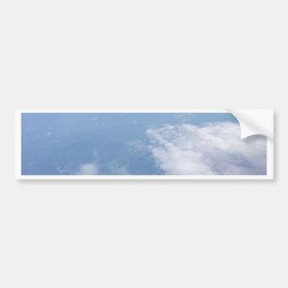 Autocollant De Voiture Perdu dans les nuages