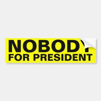 Autocollant De Voiture Personne pour le président