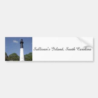 Autocollant De Voiture Phare de l'île de Sullivan