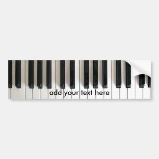 Autocollant De Voiture piano de musique