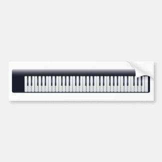 Autocollant De Voiture Piano électrique