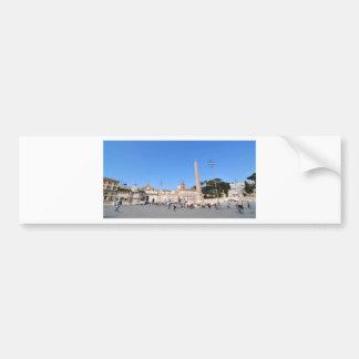 Autocollant De Voiture Piazza del Popolo, Rome, Italie