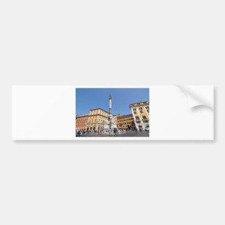 Autocollant De Voiture Piazza Navona à Rome, Italie