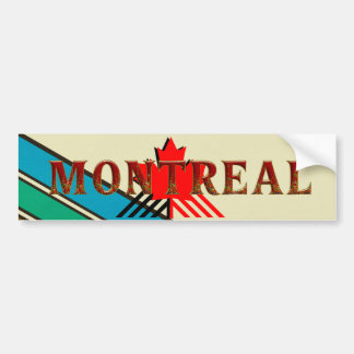Autocollant De Voiture PIÈCE EN T Montréal
