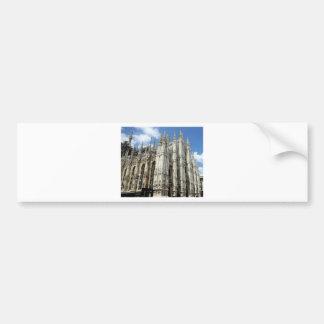 Autocollant De Voiture piliers de temple et de pierre
