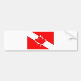 Autocollant De Voiture Piqué blanc rempli Canada