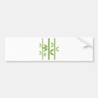 Autocollant De Voiture Plante en bambou