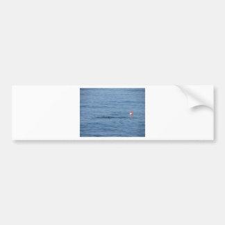 Autocollant De Voiture Plongeur de mer dans le bain de costume de